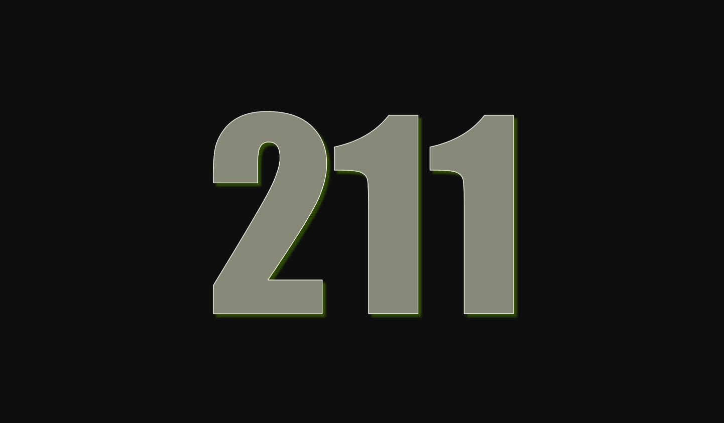 Die Bedeutung der Zahl 211