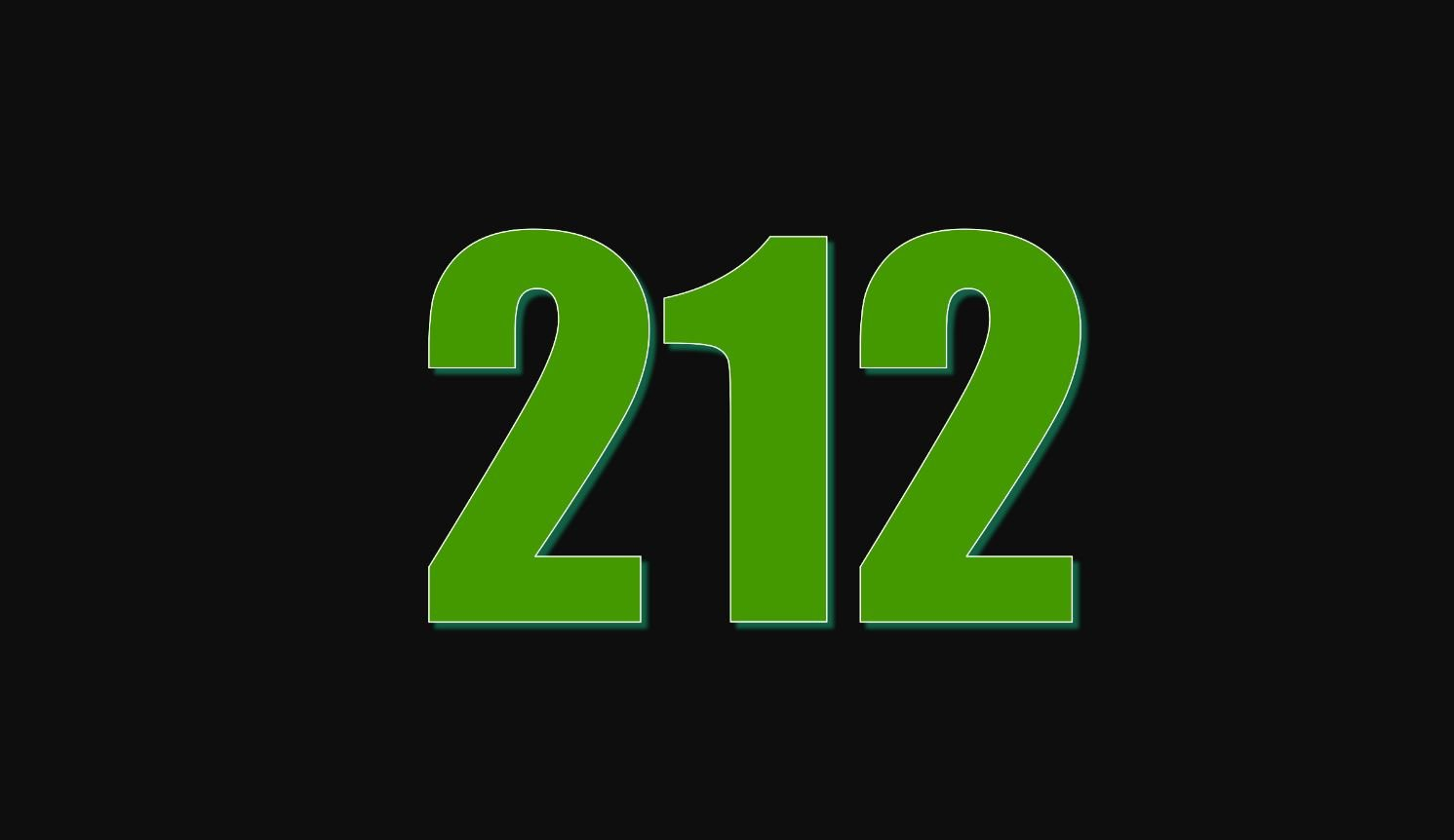 Die Bedeutung der Zahl 212