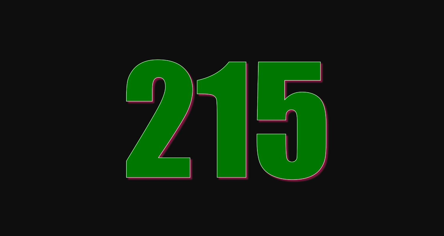 Die Bedeutung der Zahl 215