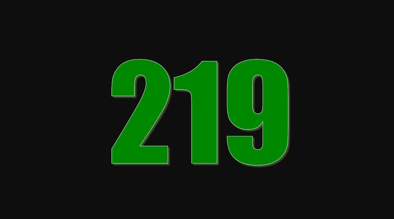 Die Bedeutung der Zahl 219