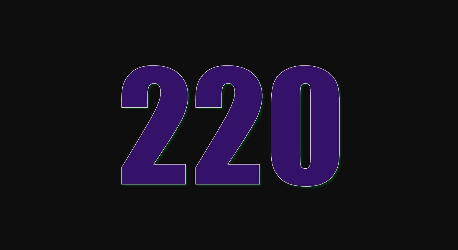 Die Bedeutung der Zahl 220