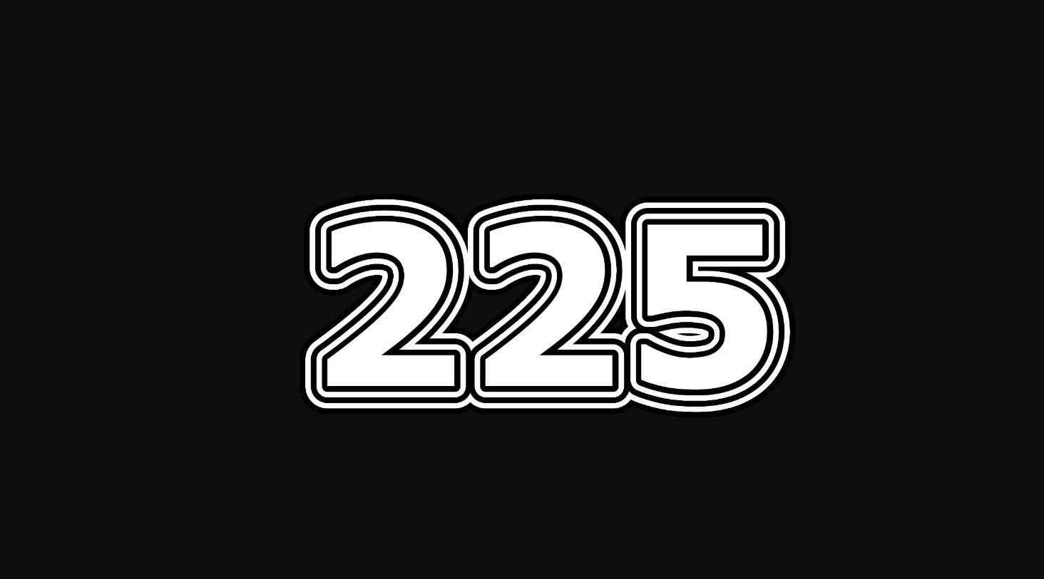 Die Bedeutung der Zahl 225