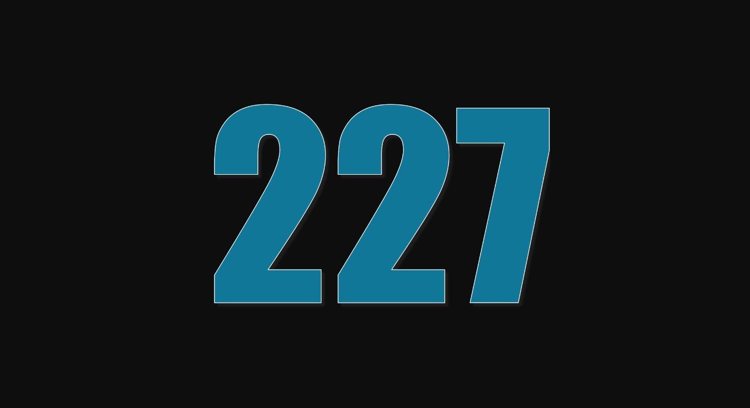 Die Bedeutung der Zahl 227