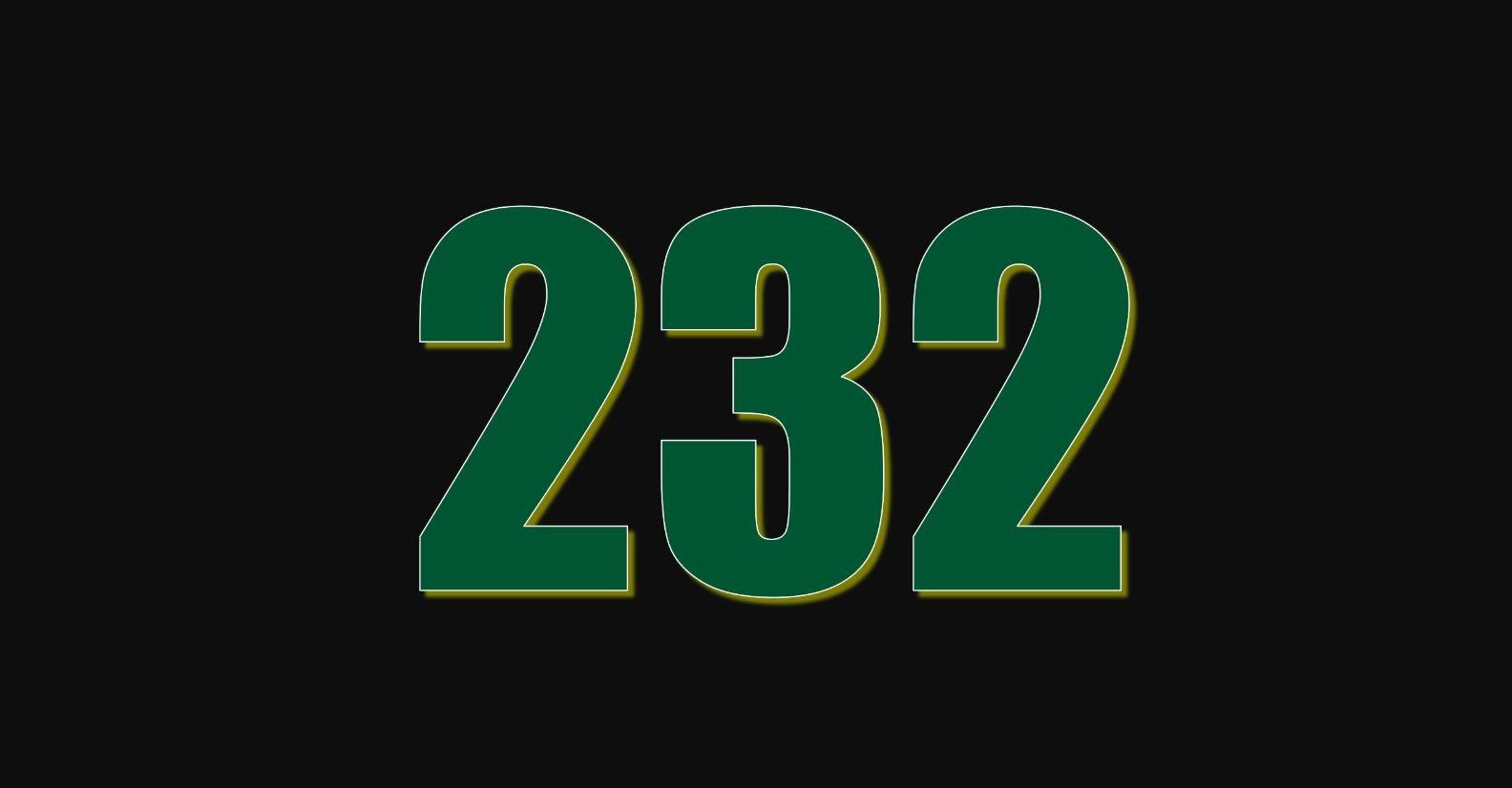 Die Bedeutung der Zahl 232