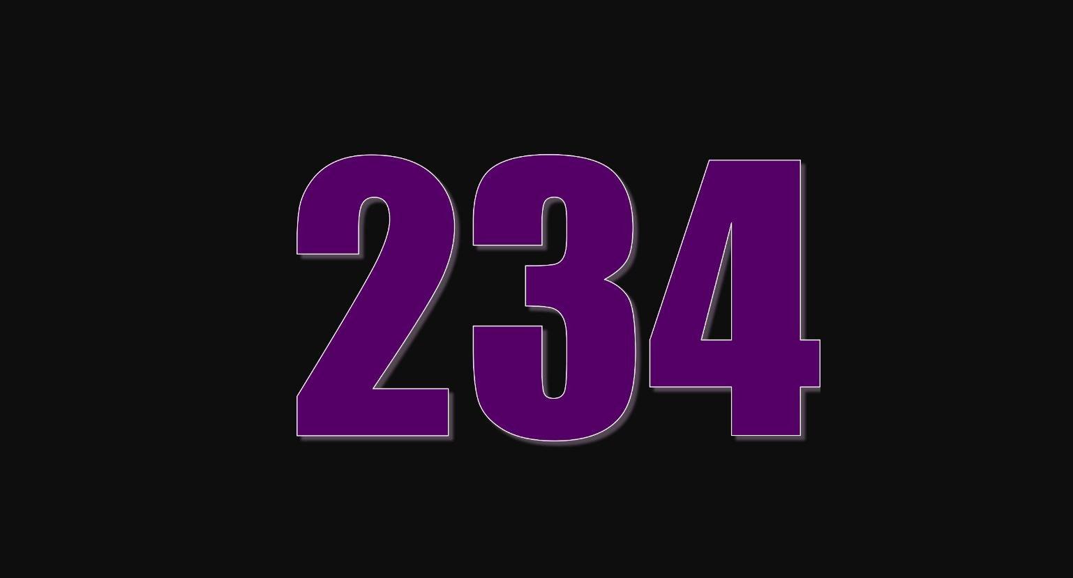 Die Bedeutung der Zahl 234