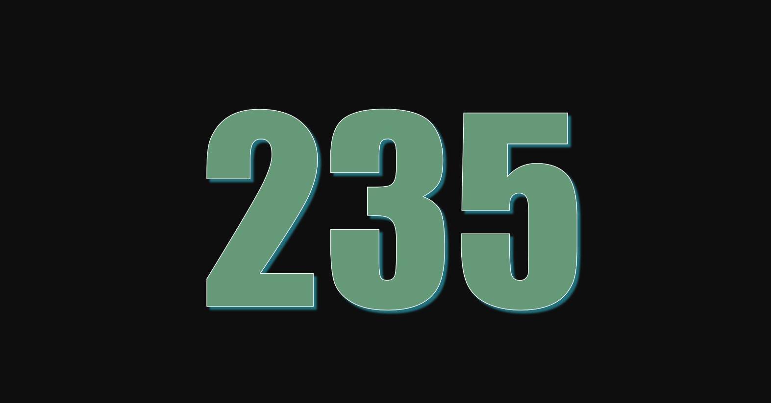 Die Bedeutung der Zahl 235