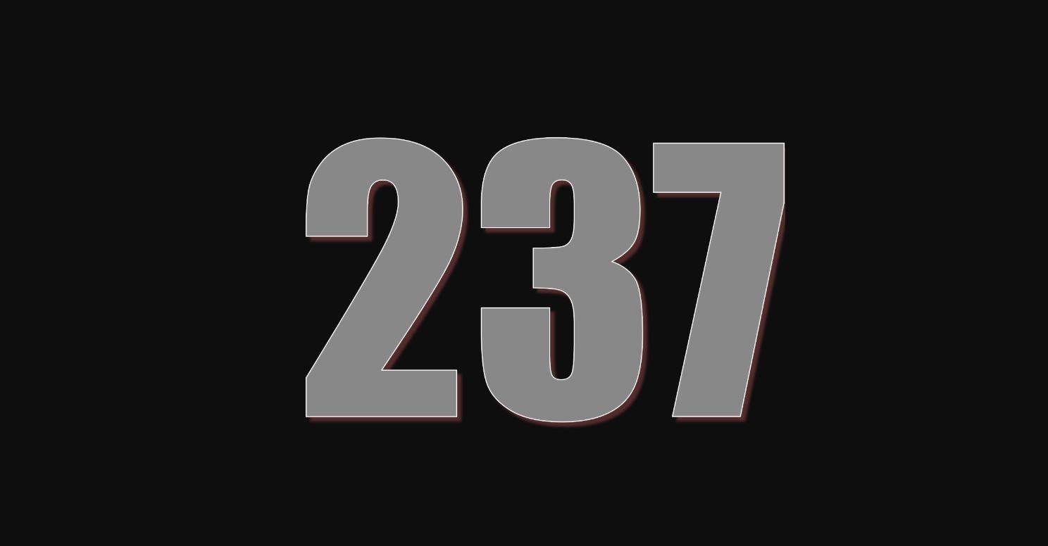 Die Bedeutung der Zahl 237