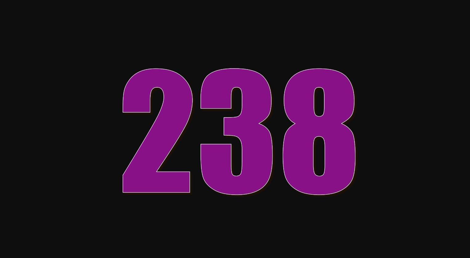 Die Bedeutung der Zahl 238