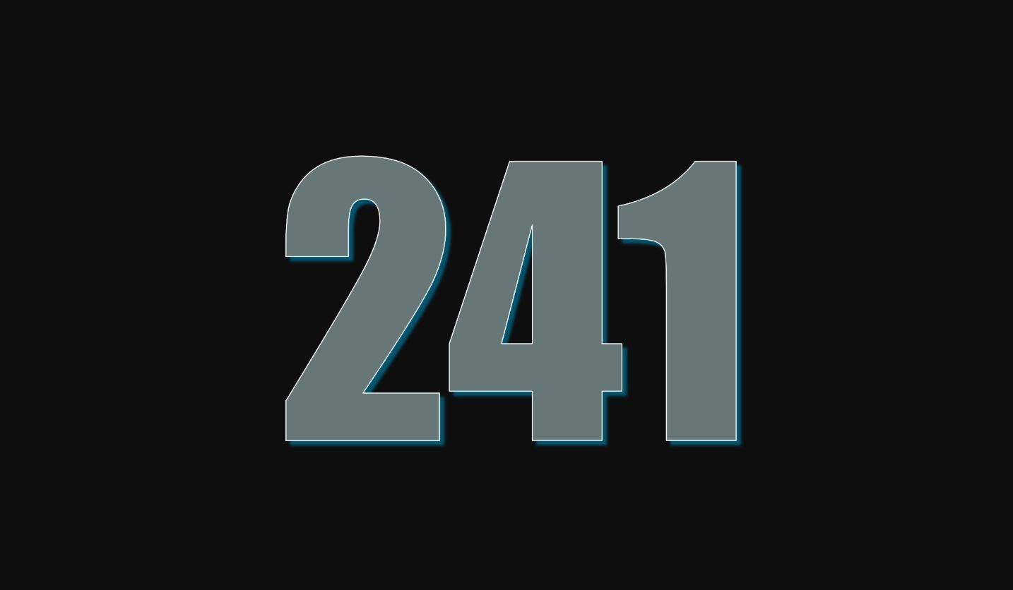 Die Bedeutung der Zahl 241