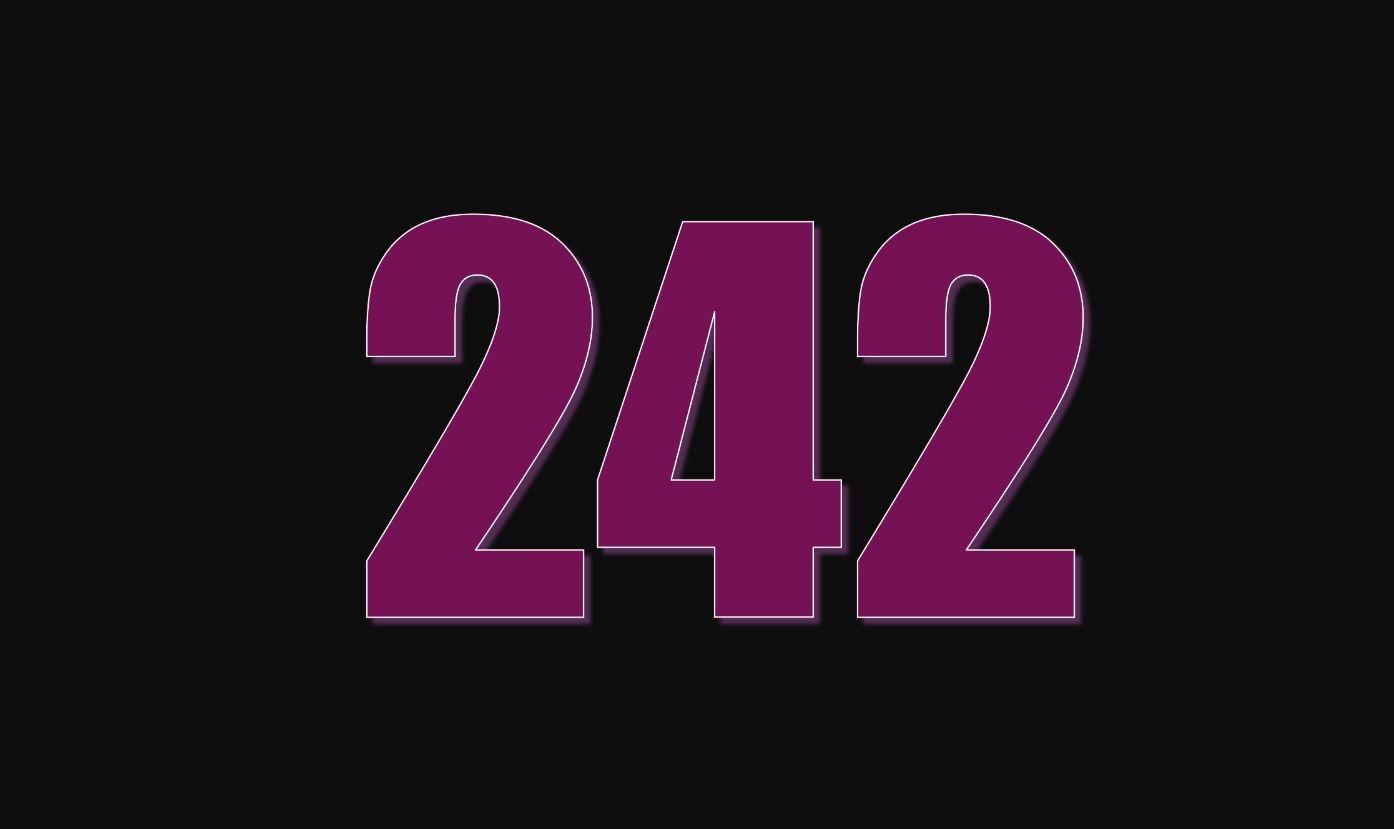 Die Bedeutung der Zahl 242