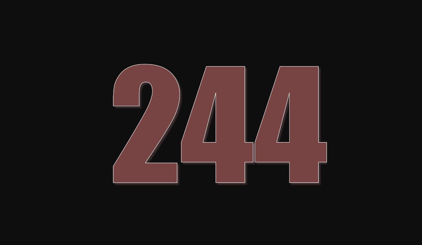 Die Bedeutung der Zahl 244