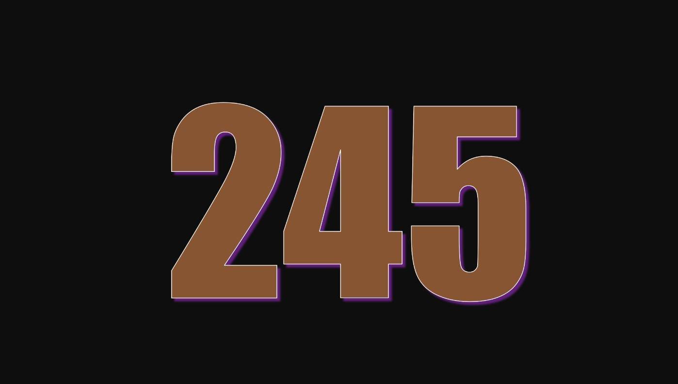 Die Bedeutung der Zahl 245