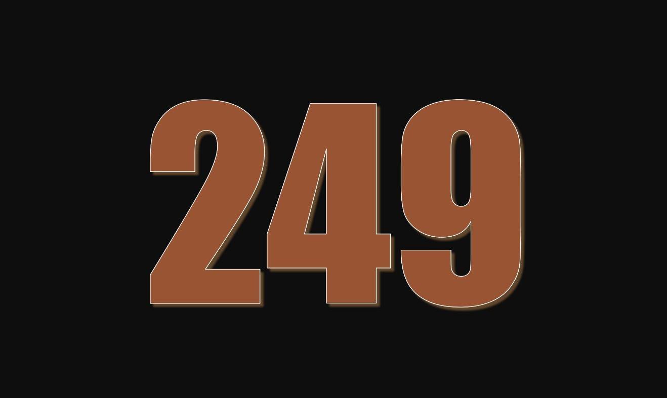 Die Bedeutung der Zahl 249