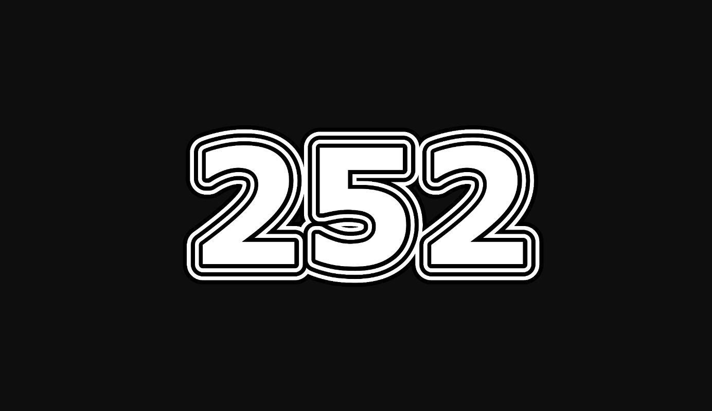 Die Bedeutung der Zahl 252