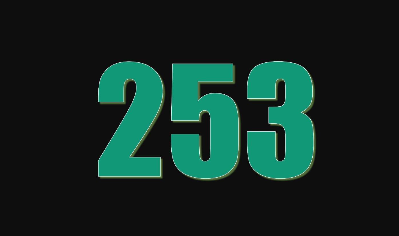 Die Bedeutung der Zahl 253