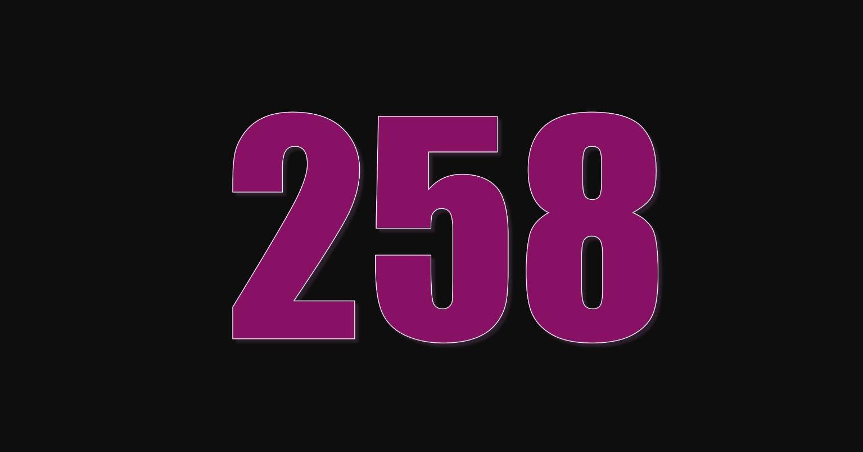 Die Bedeutung der Zahl 258