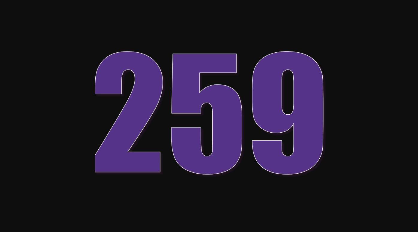 Die Bedeutung der Zahl 259