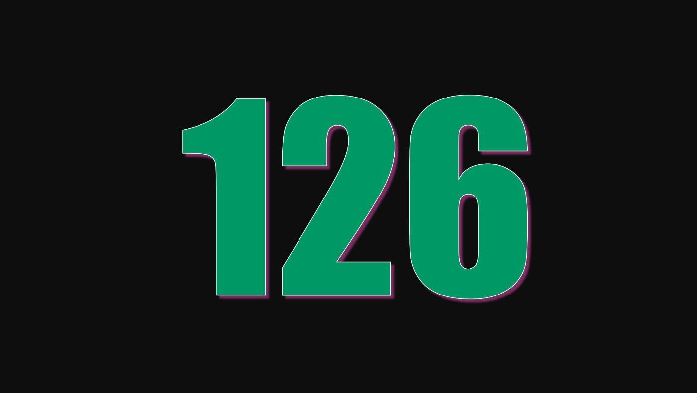 Die Bedeutung der Zahl 126