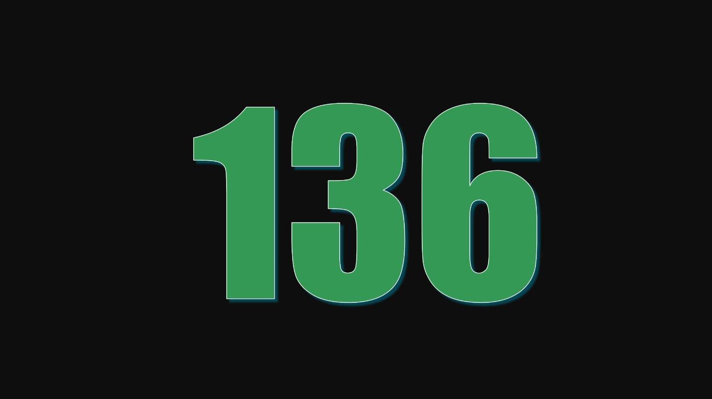 Die Bedeutung der Zahl 136