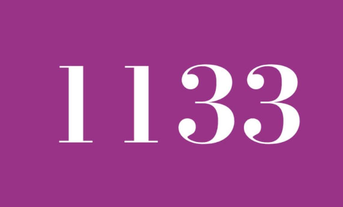 Die Bedeutung der Zahl 1133