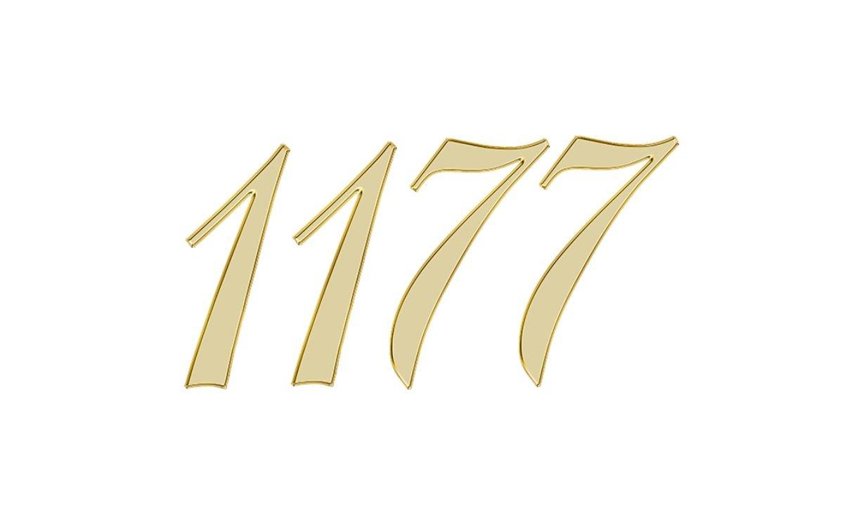 Die Bedeutung der Zahl 1177