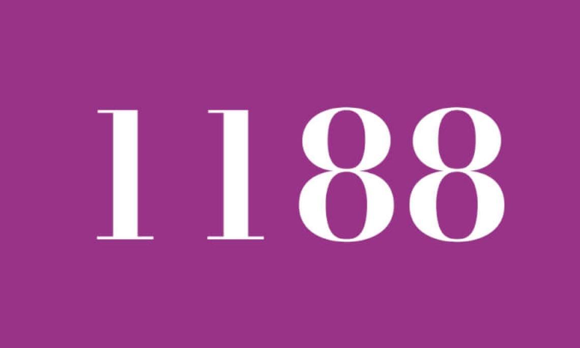 Die Bedeutung der Zahl 1188
