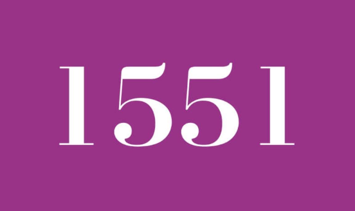 Die Bedeutung der Zahl 1551