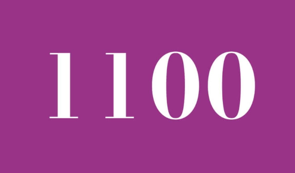 Die Bedeutung der Zahl 1100