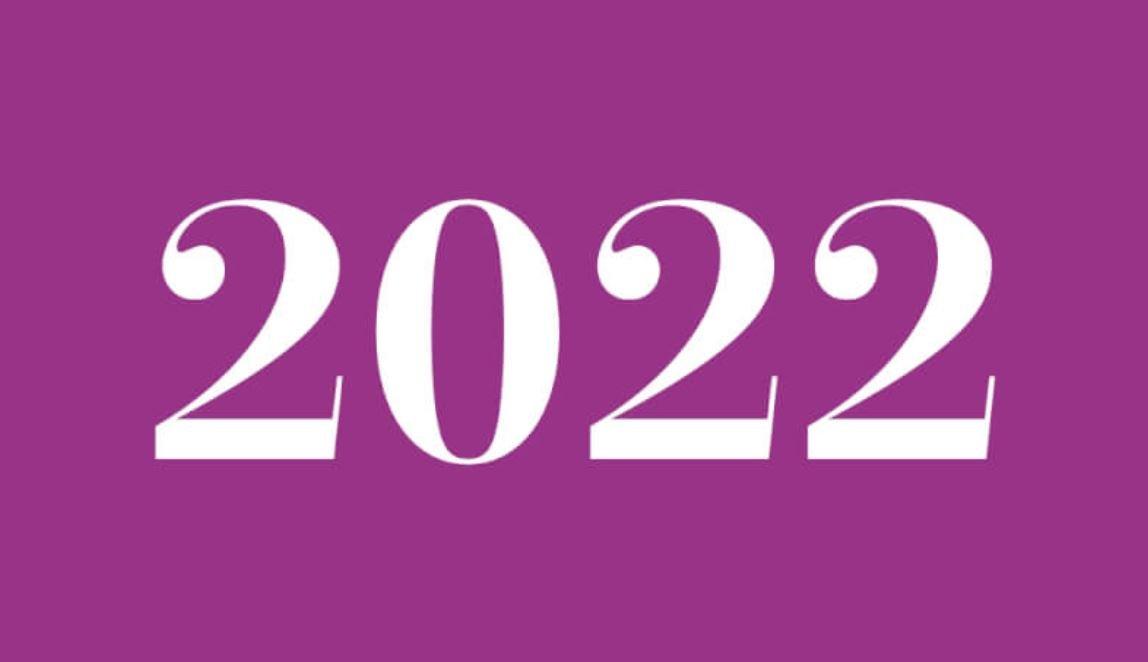 Die Bedeutung der Zahl 2022