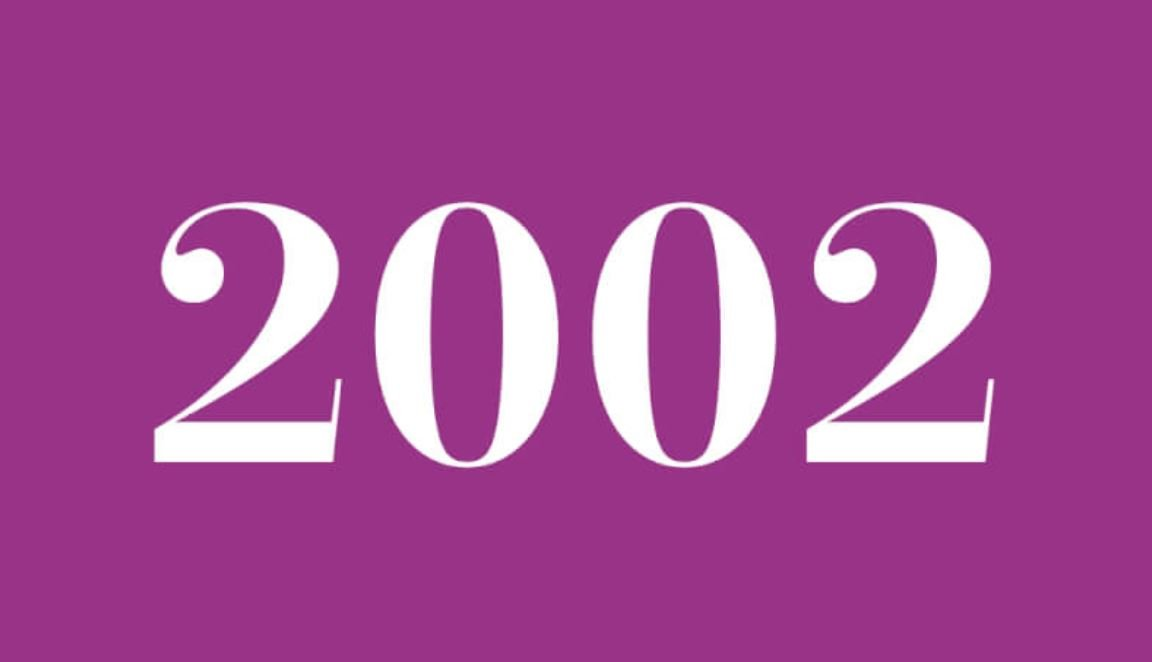 Die Bedeutung der Zahl 2002