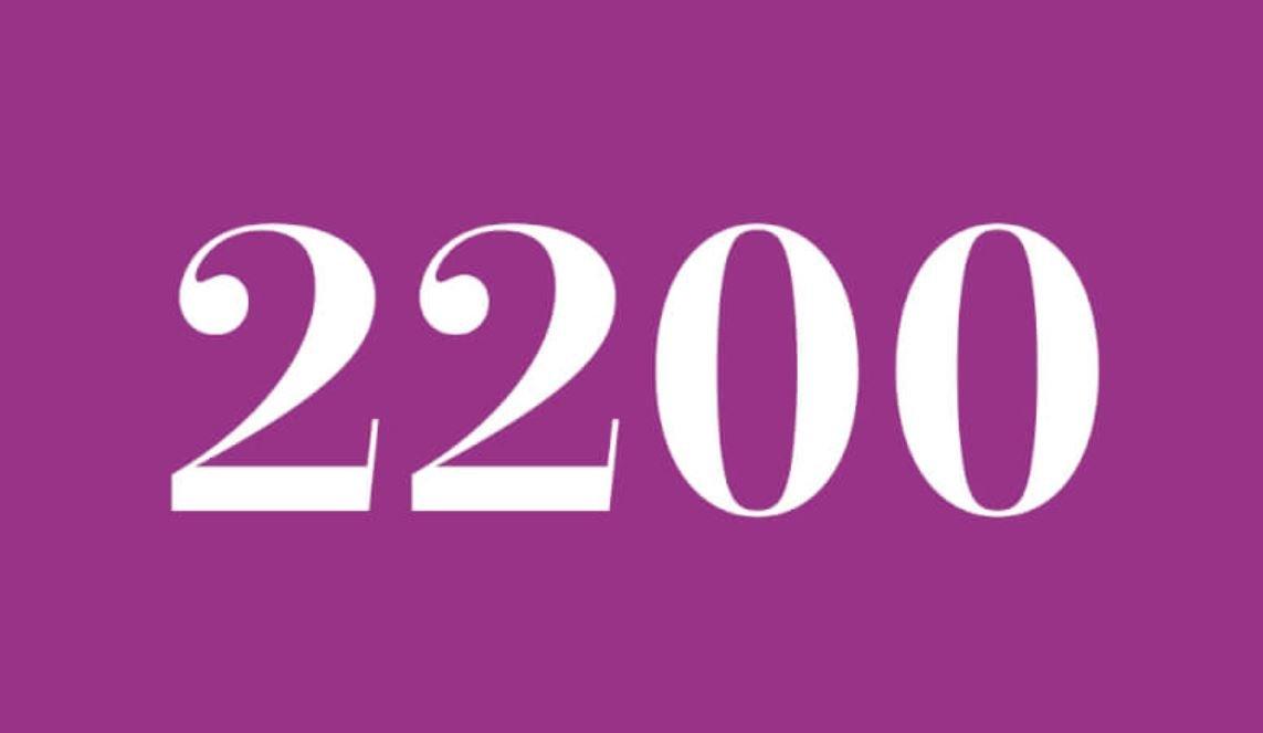 Die Bedeutung der Zahl 2200