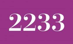 Die Bedeutung der Zahl 2233: Numerologie und Zahlenmystik