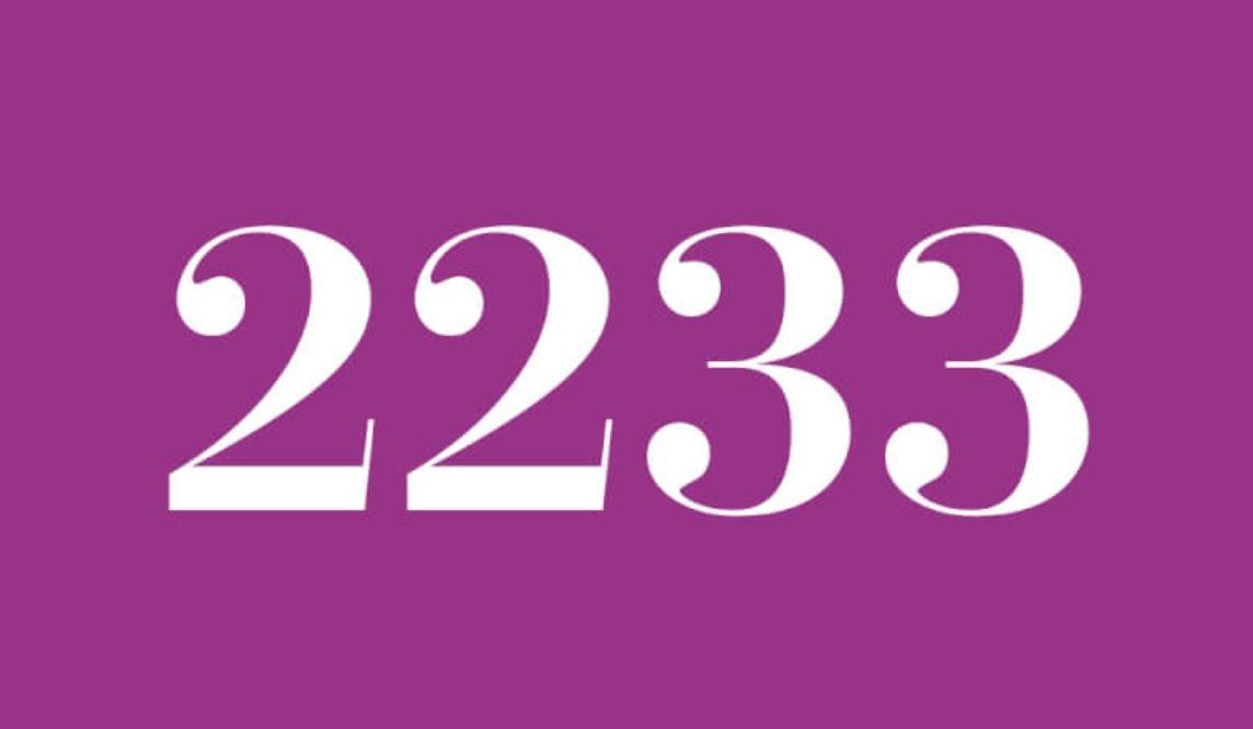 Die Bedeutung der Zahl 2233