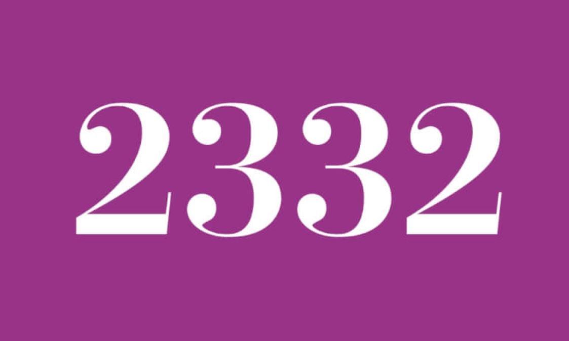 Die Bedeutung der Zahl 2332