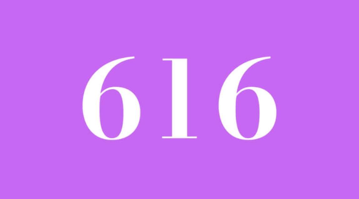 Die Bedeutung der Zahl 616