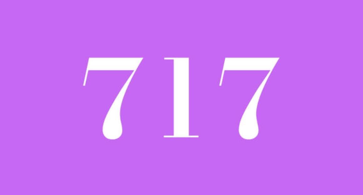Die Bedeutung der Zahl 717