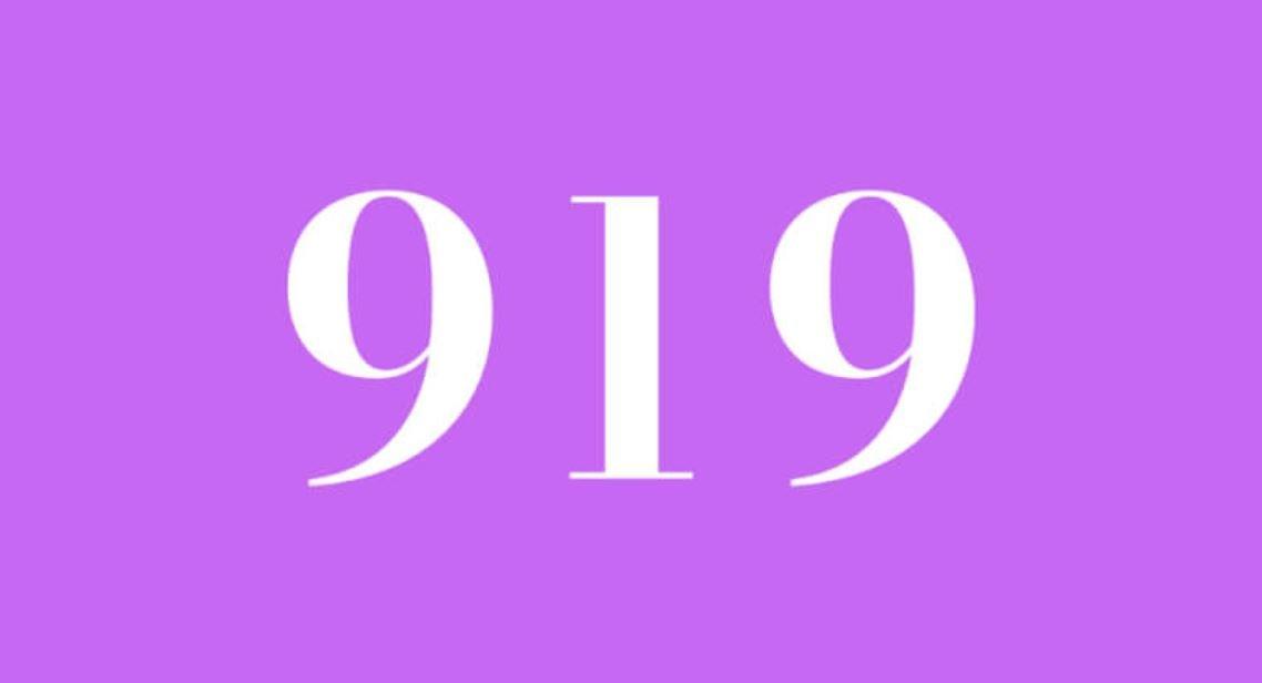 Die Bedeutung der Zahl 919