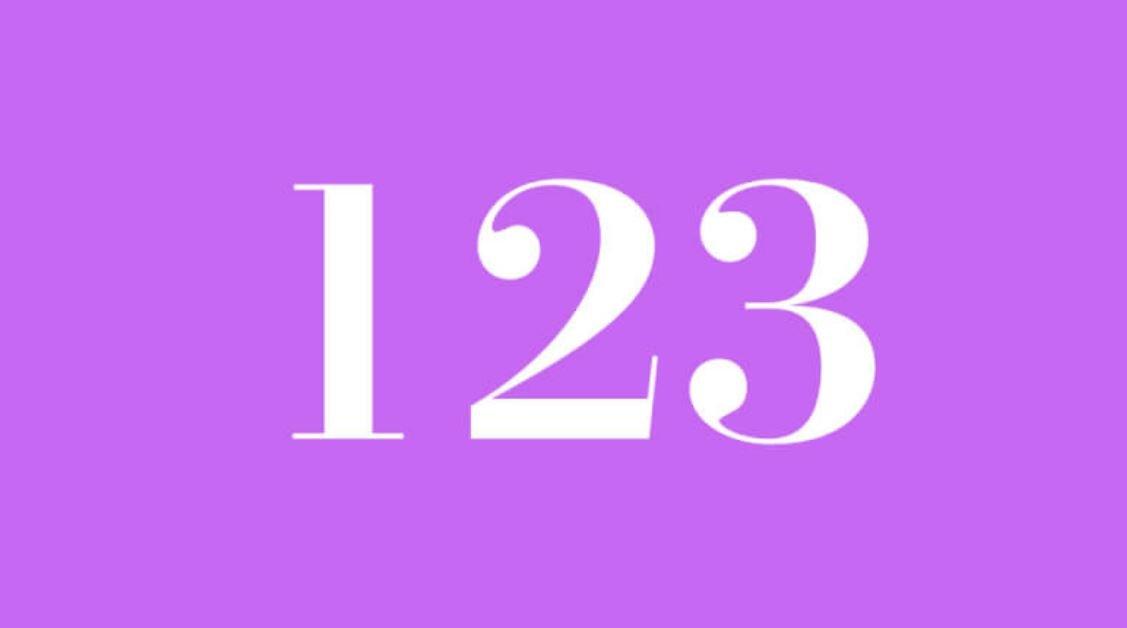 Engelszahl 123