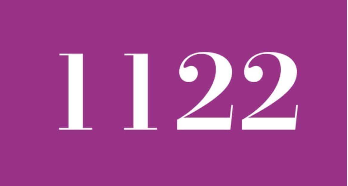 Engelszahl 1122