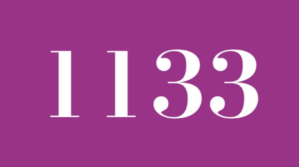 Engelszahl 1133