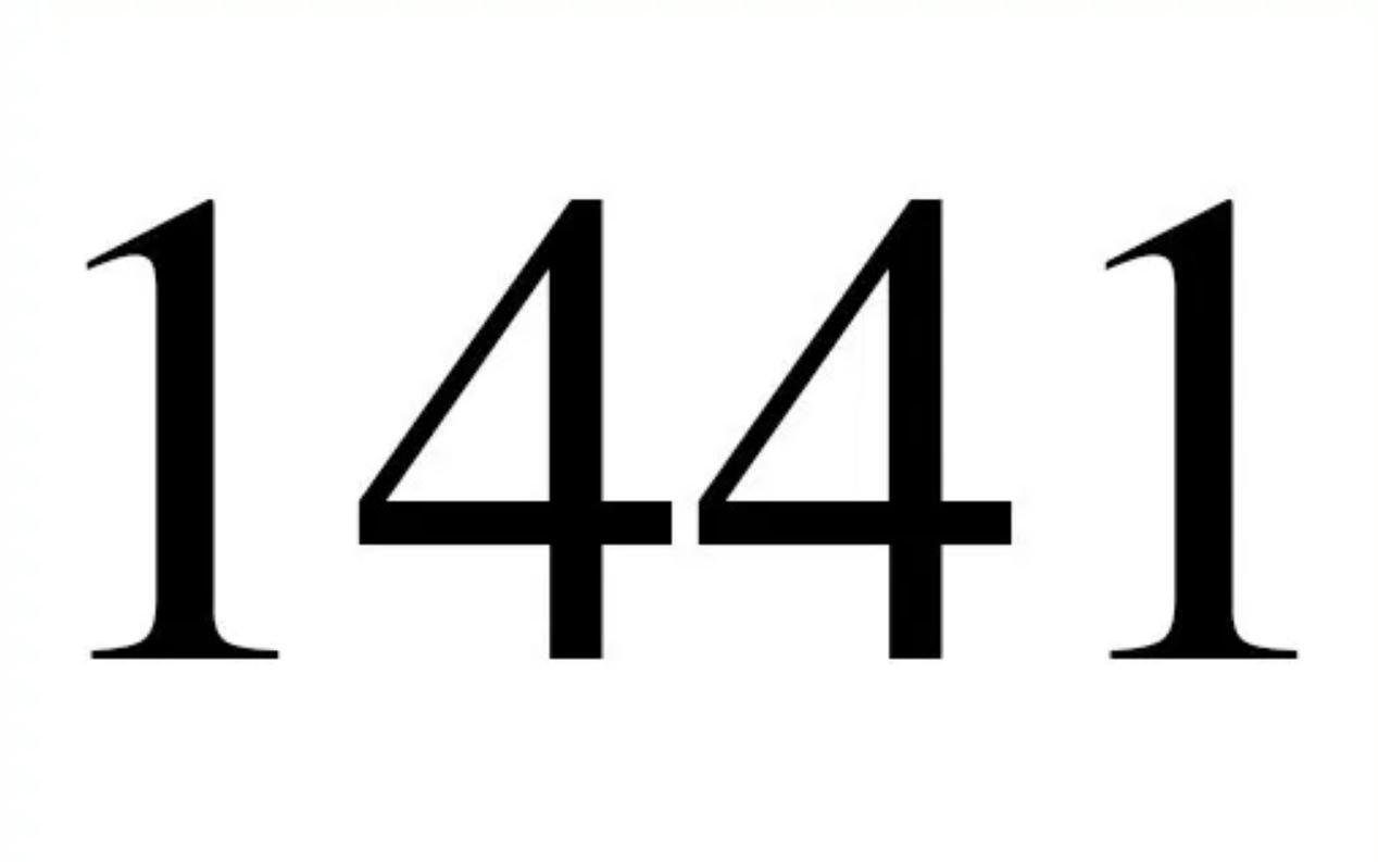 Engelszahl 1441
