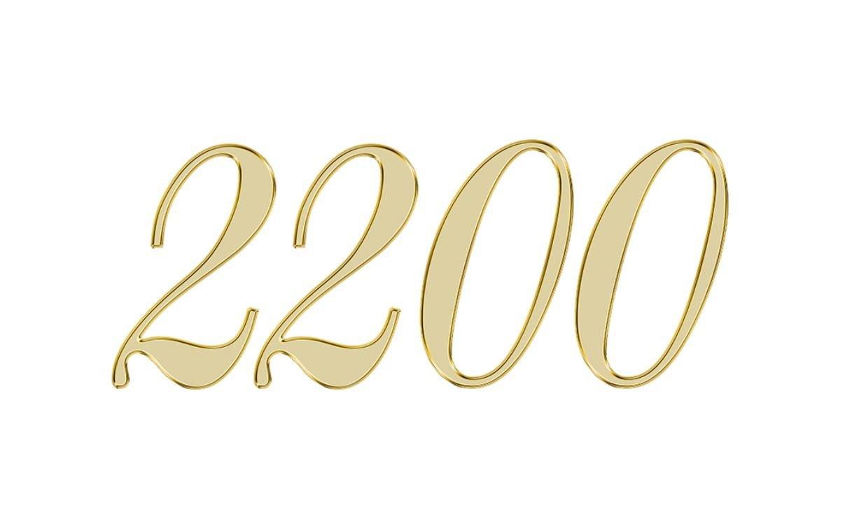 Engelszahl 2200
