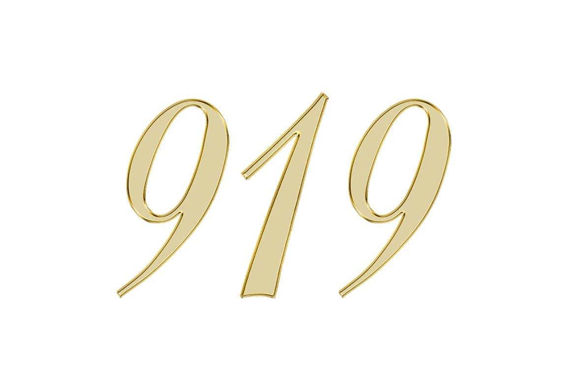 Engelszahl 919