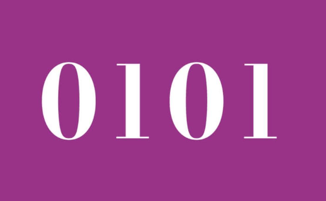 Die Bedeutung der Zahl 0101
