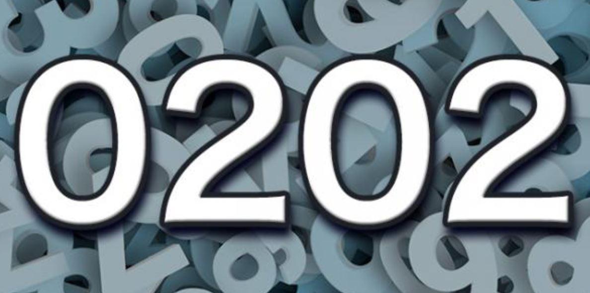 Die Bedeutung der Zahl 0202