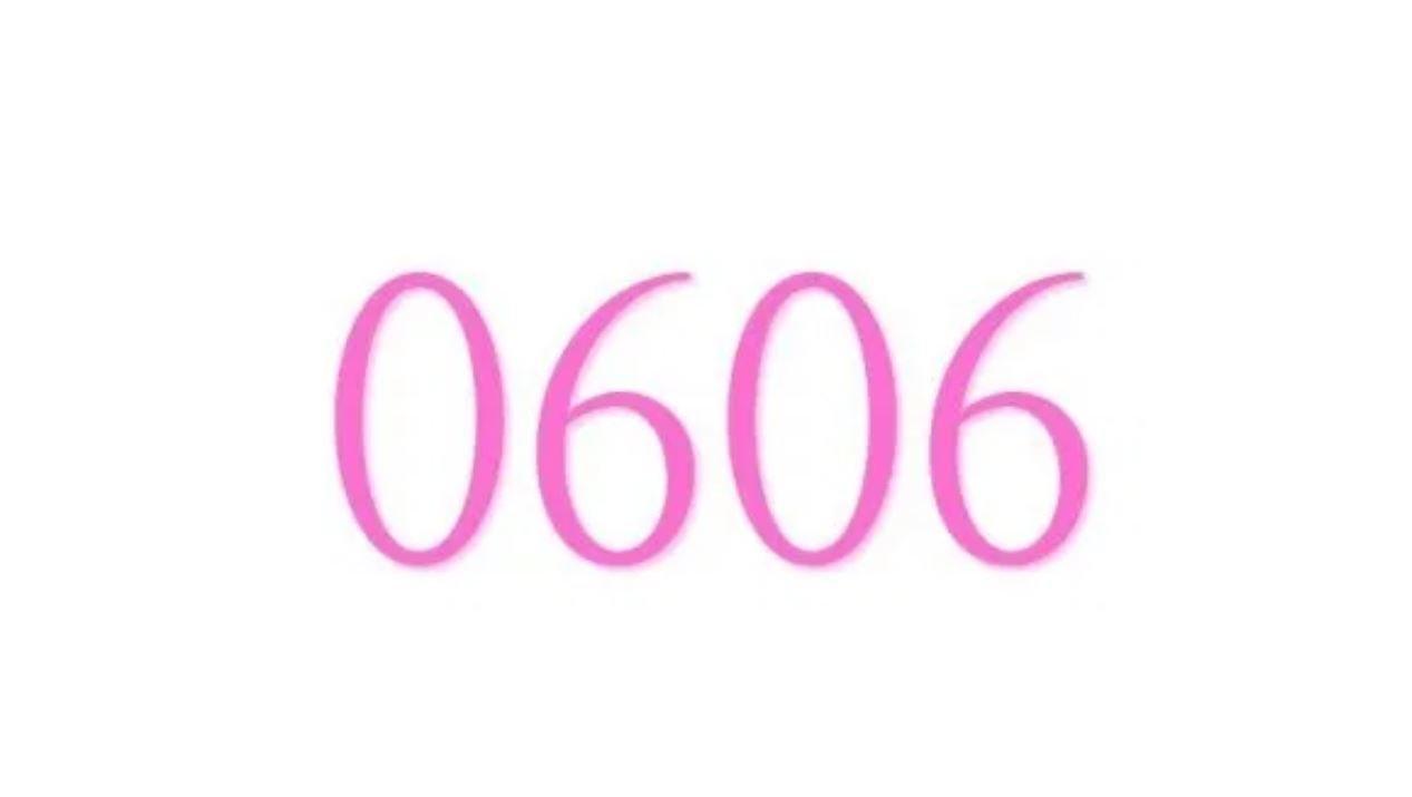 Die Bedeutung der Zahl 0606