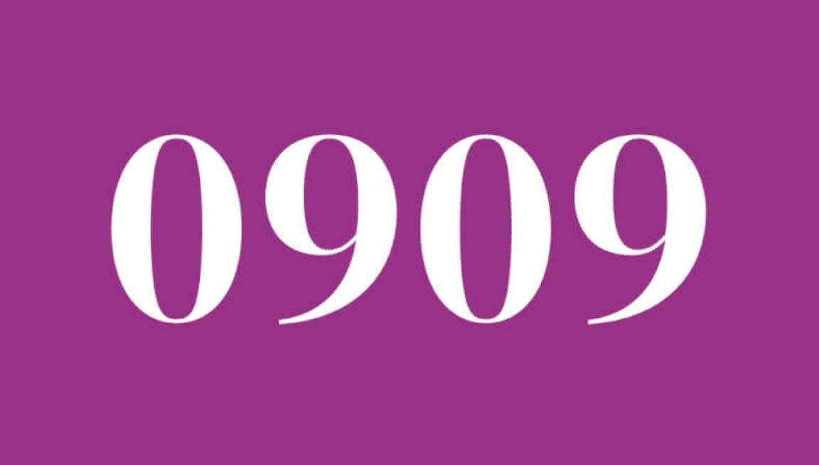 Die Bedeutung der Zahl 0909
