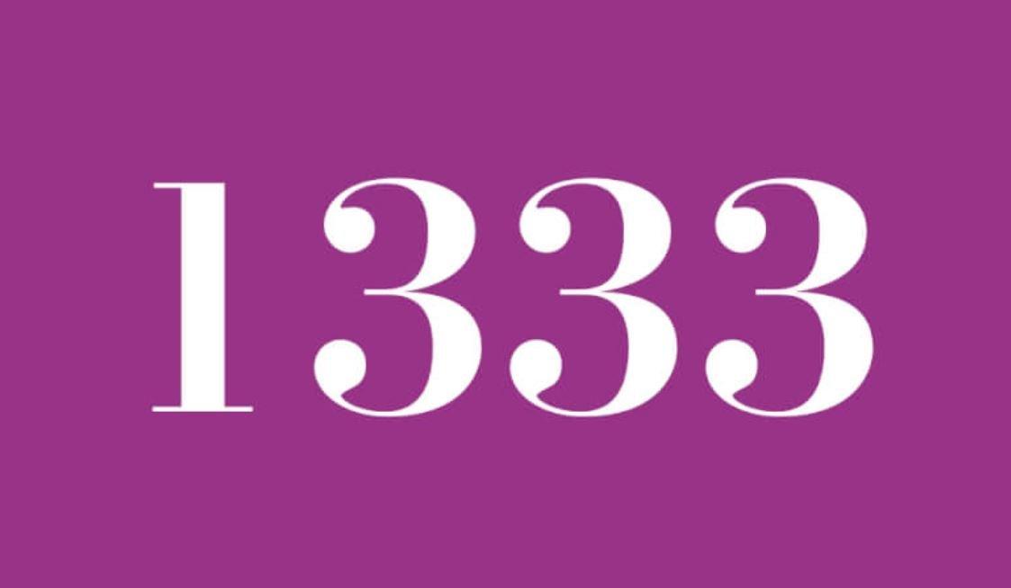 Die Bedeutung der Zahl 1333